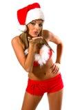 Sexy Mrs Santa Clause Stock Photo