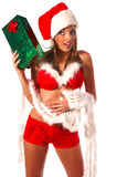 Sexy Mrs Santa Clause Stock Image