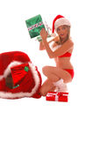 Sexy Mrs Santa Clause Royalty Free Stock Photo