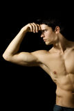 Sexy muscular man Stock Image
