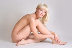 Sexy naked woman Stock Image