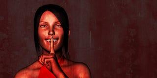 Sexy Naughty Vampire for Halloween Stock Image