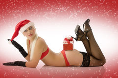 Sexy noel Royalty Free Stock Images