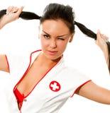 Sexy nurse Stock Image