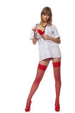 Sexy Nurse Royalty Free Stock Photos