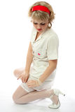 Sexy nurse Stock Photography
