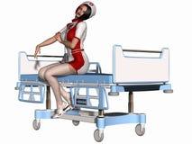 Sexy Nurse Royalty Free Stock Image