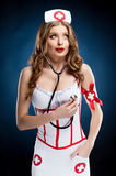 Sexy nurse. Royalty Free Stock Image