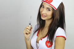 Sexy nurse Royalty Free Stock Photography
