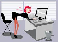Sexy operator Stock Photos