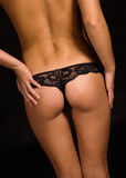 Sexy panties Royalty Free Stock Images