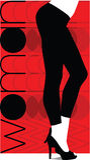 Sexy pants illustration Stock Photography