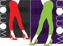 Sexy pants illustration Royalty Free Stock Image