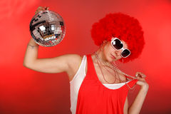 party girl Royalty Free Stock Images