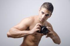 Sexy Photographer Stock Image