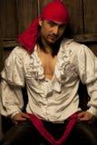Sexy piraat stock foto
