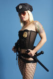 Sexy police officer Royalty Free Stock Image