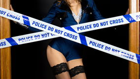 police party women stock video footage