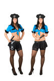 Sexy policewoman Royalty Free Stock Image