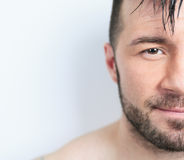 A sexy portrait of a man Stock Images