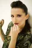 Sexy Portret van Mooi Model Stock Fotografie