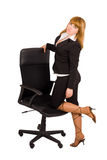 posing business woman Stock Images