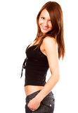 pretty young woman Stock Photography