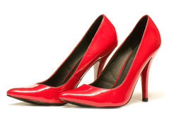 red shoes  Stock Images