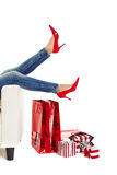 Sexy Red Shoes Stock Photo
