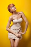 Sexy redhair woman Royalty Free Stock Photos