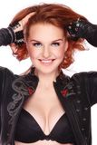 Sexy redhead Stock Photography
