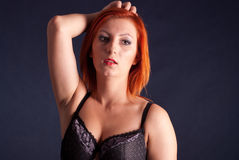Sexy redhead Royalty Free Stock Images