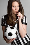 Sexy Referee Royalty Free Stock Photos
