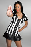 Sexy Referee Woman Stock Photos