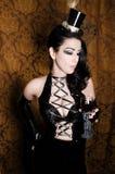 Sexy Retro Cabaret Stock Image