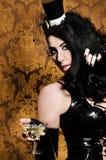 Sexy Retro Cabaret Stock Images
