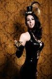 Sexy Retro Cabaret Royalty Free Stock Images