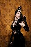 Sexy Retro Cabaret - Beautiful Femme Fatale Stock Images