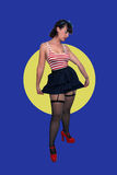 Sexy Retro Pinup Girl  Stock Image
