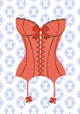 Sexy retro style corset Stock Photography