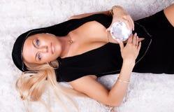 Sexy rijke vrouw Royalty-vrije Stock Afbeelding