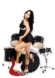 Sexy roche-n-roulez Photos stock