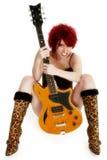 Sexy Rocker Girl Royalty Free Stock Photos