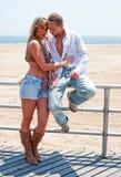 Sexy romantic couple Stock Image