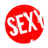 Sexy rubber stamp Royalty Free Stock Photo