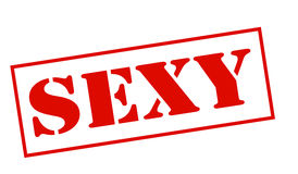 Sexy. Rubber stamp with word sexy inside,  illustration Royalty Free Stock Images