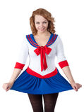 Sexy sailor Stock Photo