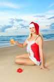 Sexy Santa Royalty Free Stock Images