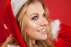 Sexy santa. Stock Images