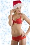 Sexy santa claus Royalty Free Stock Photos
